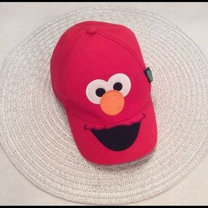 Sesame Street red baseball cap. Youth size.